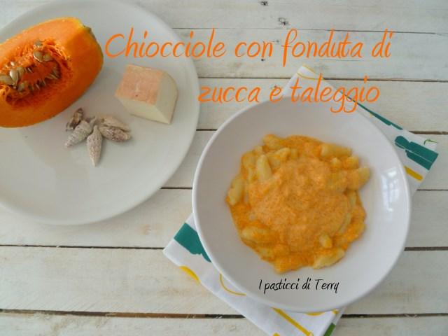Pasta fresca Chiocciole con fonduta di zucca e taleggio (10)