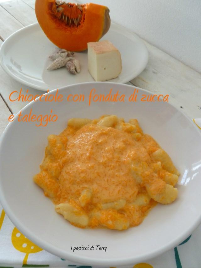Pasta fresca Chiocciole con fonduta di zucca e taleggio (11)
