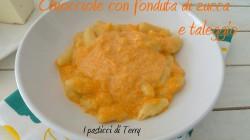 Pasta fresca Chiocciole con fonduta di zucca e taleggio (12)