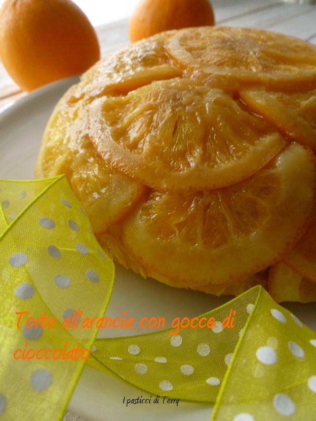 Torta all'arancia con gocce di cioccolato (11)