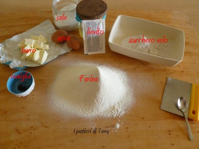 Torta frolla margherita e confettura di fragole (3)