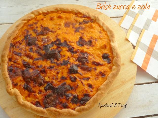 Torta brisè zucca e gorgonzola (3)