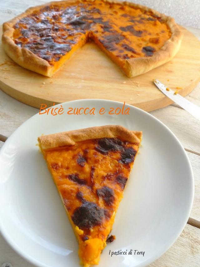 Torta brisè zucca e gorgonzola (6)