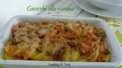 Gnocchi alla romana con ragù di verdure (14)