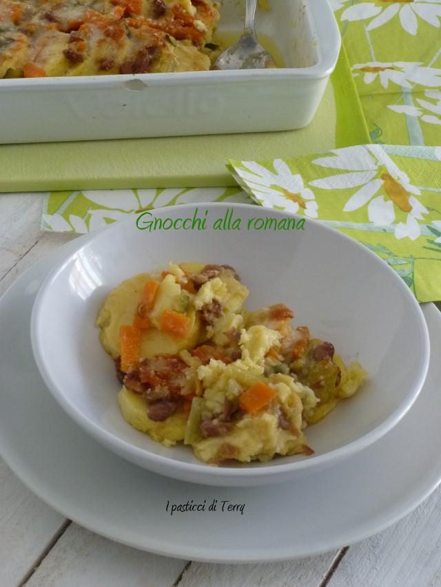 Gnocchi alla romana con ragù di verdure (18)