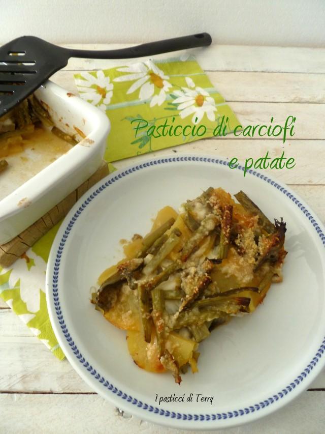 Pasticcio di carciofi e patate (7)