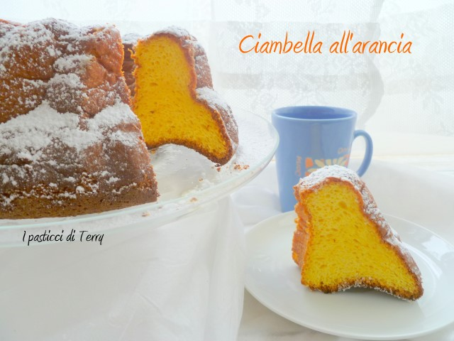 Ciambella all'arancia di Ketty (13)