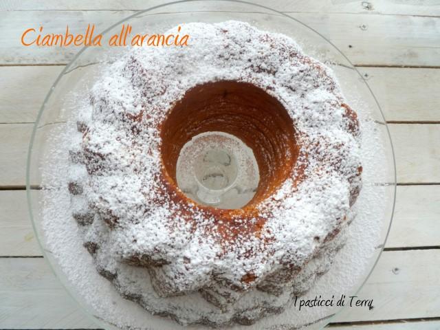 Ciambella all'arancia di Ketty (5)