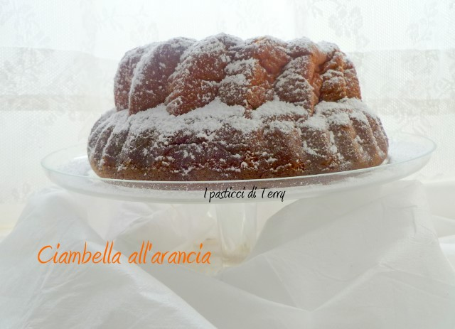 Ciambella all'arancia di Ketty (9)