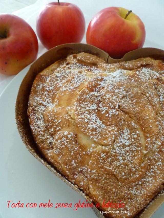 Torta con mele senza glutine e senza lattosio (12)