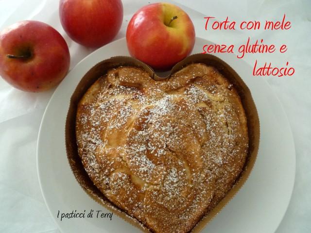 Torta con mele senza glutine e senza lattosio (13)