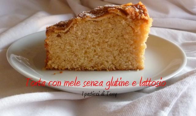 Torta con mele senza glutine e senza lattosio (14)
