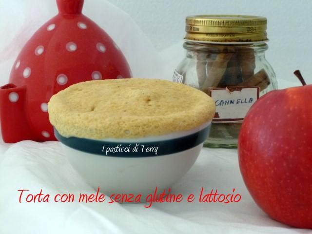 Torta con mele senza glutine e senza lattosio (7)