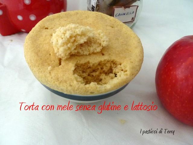 Torta con mele senza glutine e senza lattosio (8)