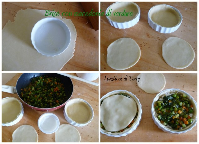Brisè con dadolata di verdure