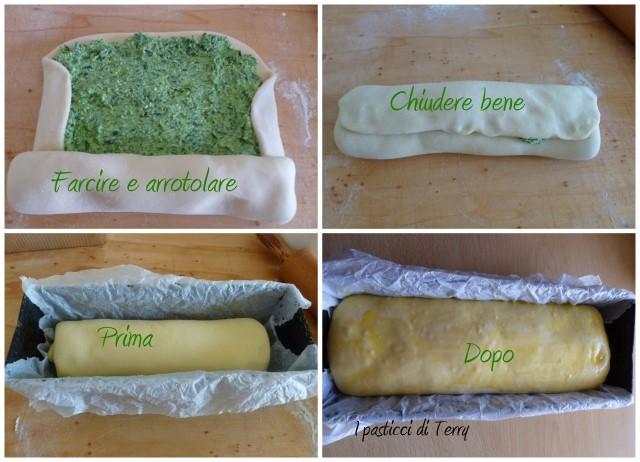 Pan brioche spinaci e ricotta
