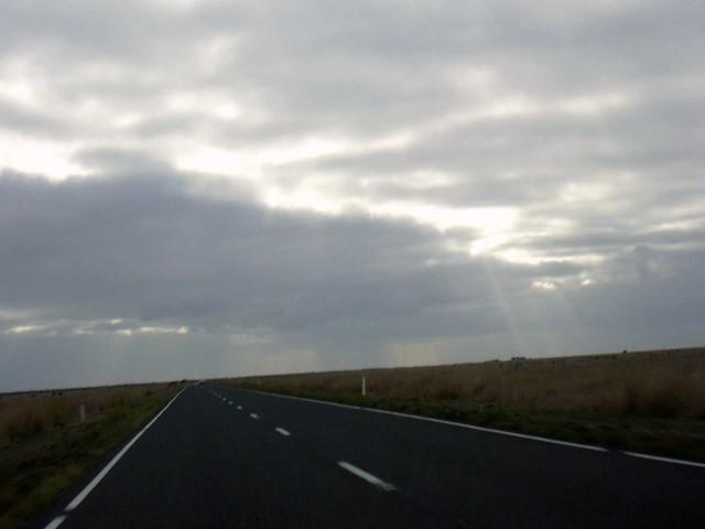 Australia route per Adelaide