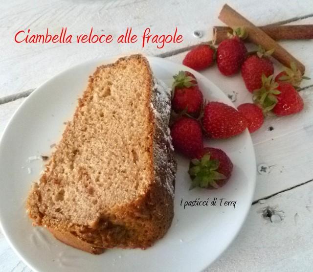 Ciambella veloce alle fragole (11)
