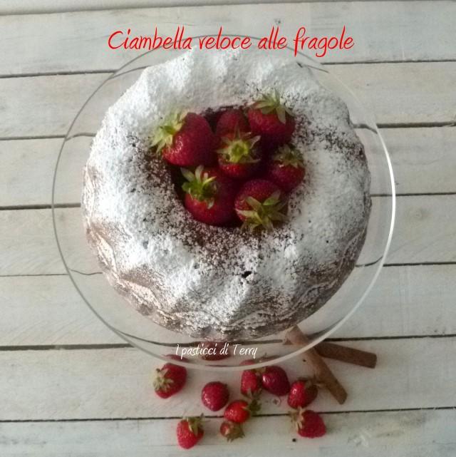 Ciambella veloce alle fragole (3)