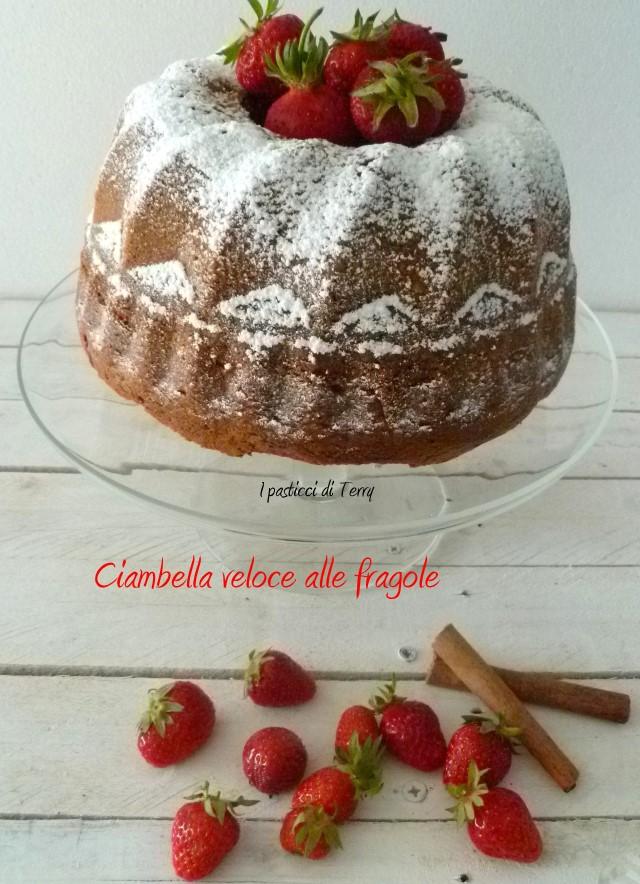 Ciambella veloce alle fragole (7)