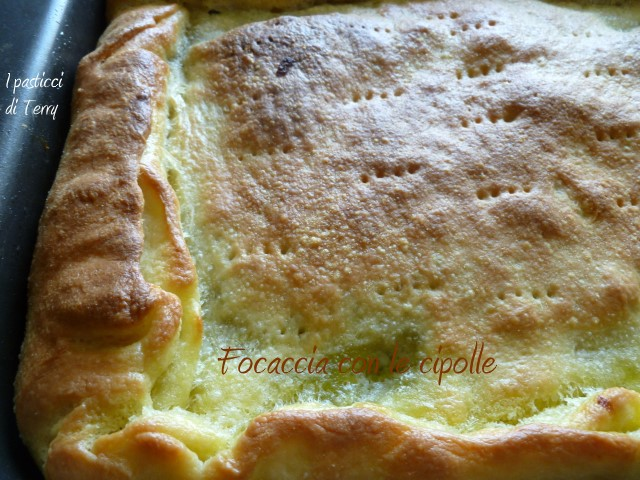 Focaccia con cipolle (8)