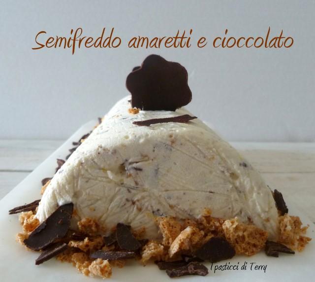 Semifreddo amaretto e cioccolato (4)