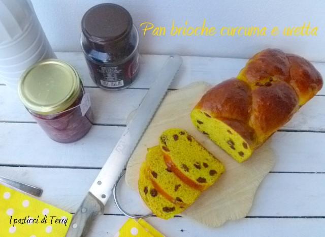 Pan brioche curcuma e uvetta (15)