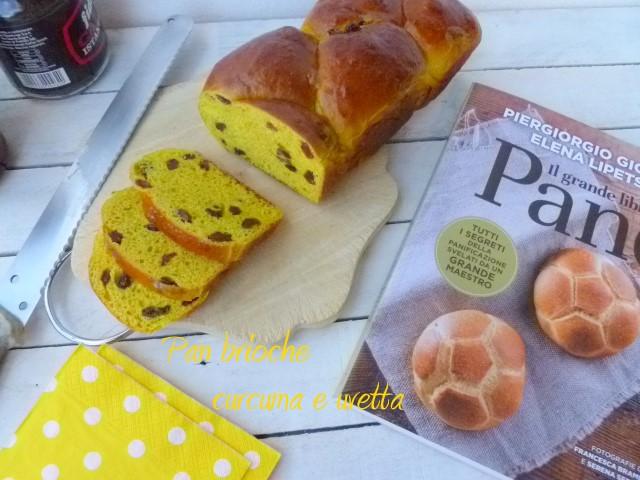 Pan brioche curcuma e uvetta (17)