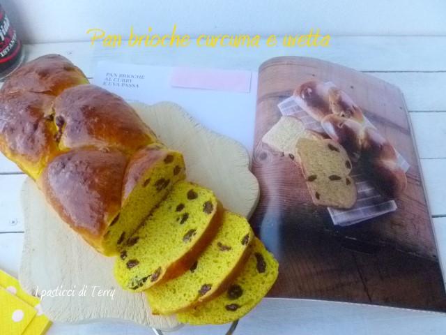 Pan brioche curcuma e uvetta (18)