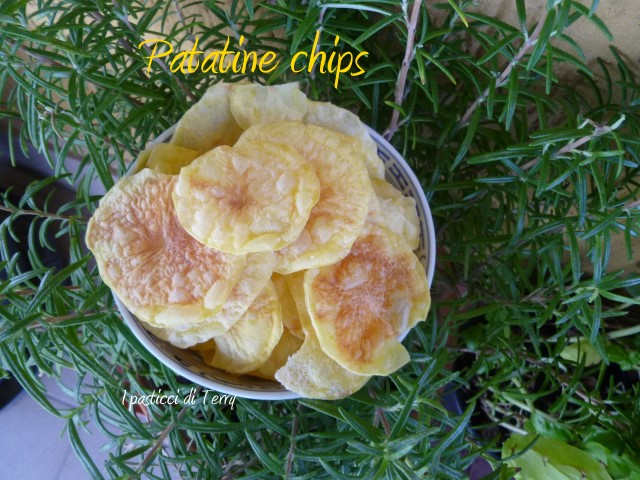 Patatine chips al microonde (11)
