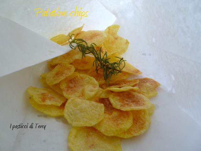Patatine chips al microonde (16)