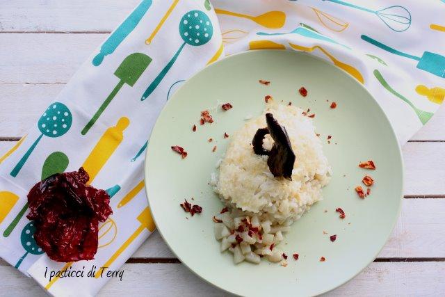 Pasticcio di riso con topinambur e peperoni cruschi (5)