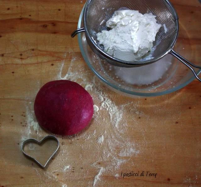 Cuori rossi con brunoise di verdure (2)