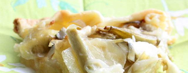 Brisè con patate carciofi cipolle e formaggi (12)