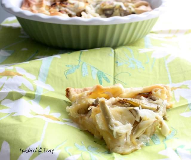 Brisè con patate carciofi cipolle e formaggi (9)