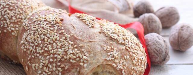Torciglioni di pane con noci e semi di sesamo (15)