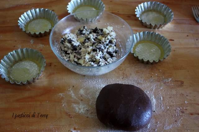 Tortini al cacao con pere e ricotta (1)