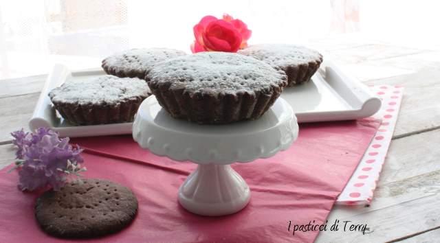 Tortini al cacao con pere e ricotta (5)