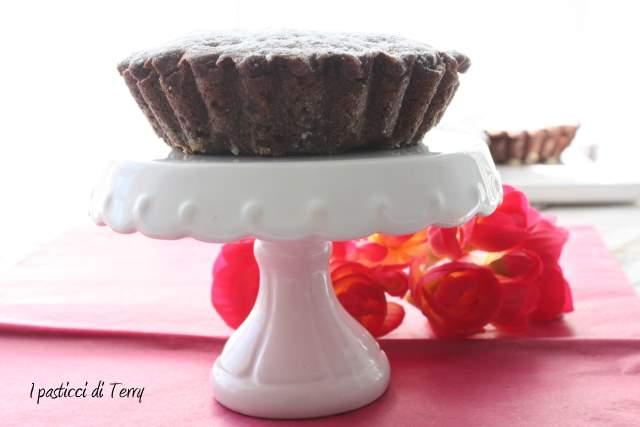 Tortini al cacao con pere e ricotta (9)