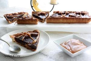 Crostata Sablè con caramello salato e ganache di cioccolato (21)