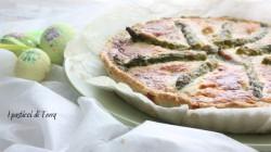Quiche con asparagi fave e feta (9)
