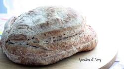 Pane semi integrale con crusta di avena (12)