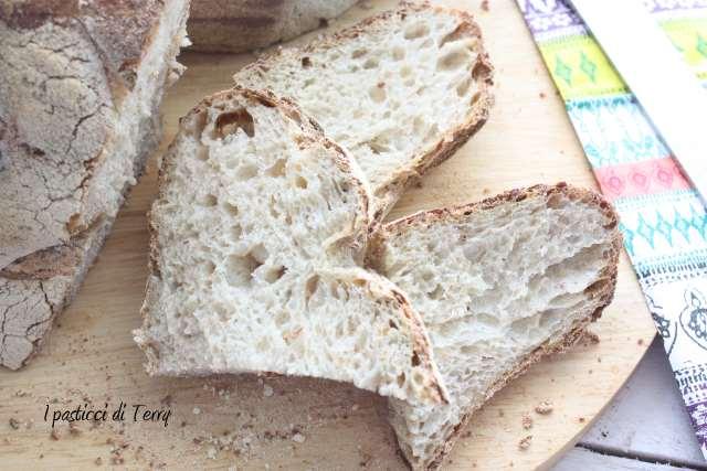 Pane semi integrale con crusta di avena (14)