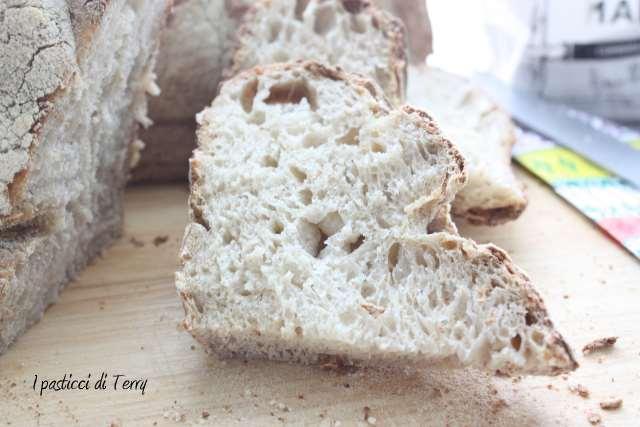 Pane semi integrale con crusta di avena (17)