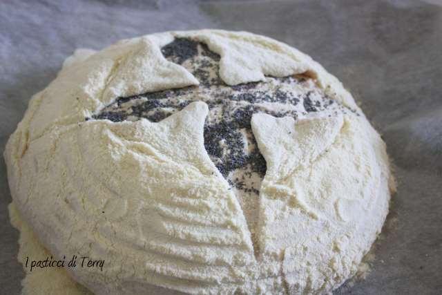Pane semi integrale con farro e acqua di governo (11)