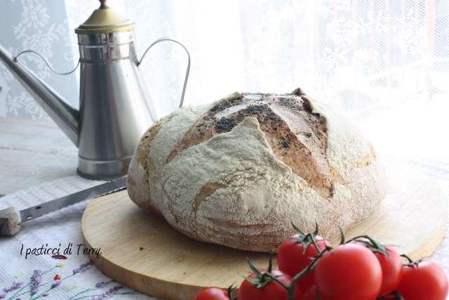 Pane semi integrale con farro e acqua di governo (15)