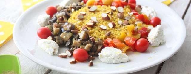 Cous cous verdure ricotta e mandorle (7)