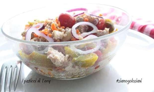 Farro con fagioli peperoni e ... (5)