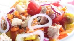 Farro con fagioli peperoni e ... (7)