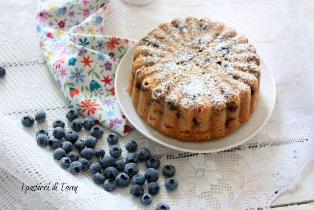 Torta soffice ai mirtilli (3)